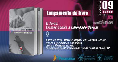Lançamento do Livro: Crimes contra a Liberdade Sexual