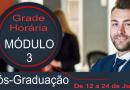 Pós-Graduação – Módulo 3