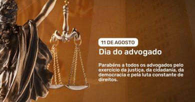 Mensagem da Coordenação: Dia do Advogado